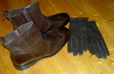 Boots och Handskar